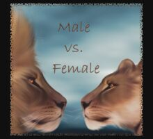 Male vs. Female by Lisa  Weber