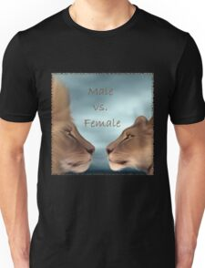 Male vs. Female Unisex T-Shirt