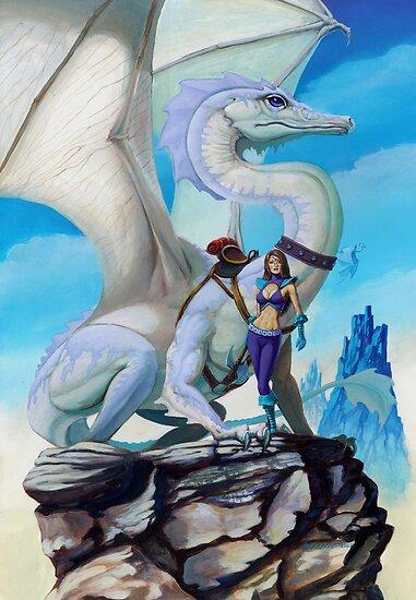 Scout Dragon by SMorrisonArt
