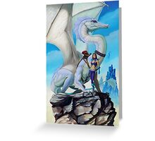 Scout Dragon Greeting Card