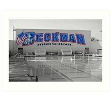Beckman High Art Print