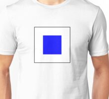 International maritime signal flags sea alphabet collection letter s Unisex T-Shirt