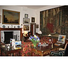 Sitting Room at Cawdor Castle, Scotland Photographic Print