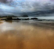 North to Bar Beach by monkeyfoto