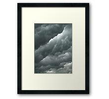 Serious Sky Framed Print