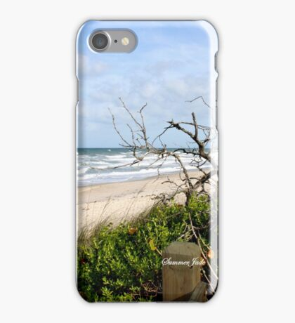 Lone Tree by the Ocean iPhone Case/Skin