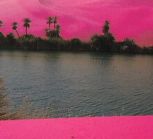 Pink Landscape by g66by