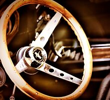 Mustang steering wheel by A.R. Williams