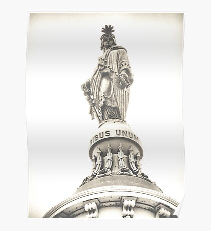 statue of freedom Poster
