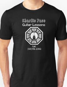 Charlie Pace Guitar Lessons T-Shirt