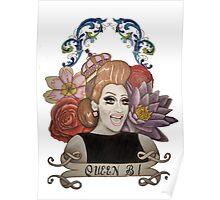 Clear Background Bianca Del Rio Design Poster