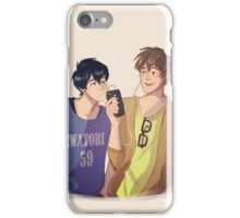 Mako and Haru iPhone Case/Skin