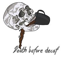 Death Before Decaf by Tessa Archambault