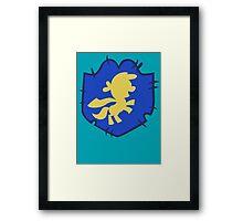 Cutie Mark Crusaders Badge Framed Print