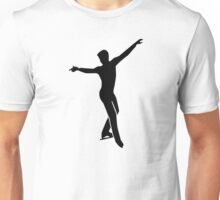 Figure skating man Unisex T-Shirt