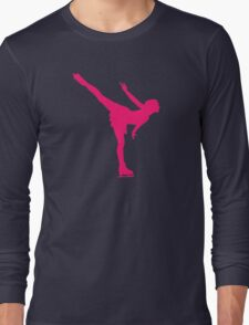 Figure skating woman Long Sleeve T-Shirt