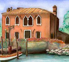 A Scene in Venice  by umasharda