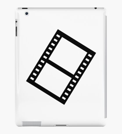Film movie reel iPad Case/Skin
