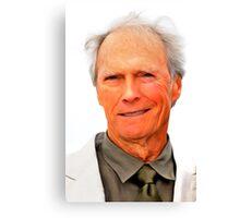 Clint Eastwood 01 Canvas Print