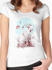 Call of the Wild Women's Fitted Scoop T-Shirt