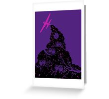 Night Flight Lovers Greeting Card