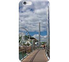 Torquay Harbour Footbridge iPhone Case/Skin