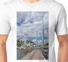 Torquay Harbour Footbridge Unisex T-Shirt