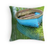 Tranquility In Italy Throw Pillow