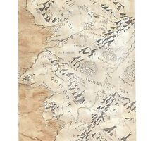 Lord Of The Rings Map - Hand Drawn by lloydj3