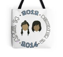 Beginning to End of Legend of Korra Tote Bag
