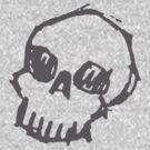 Sketchy Skull by kilroy
