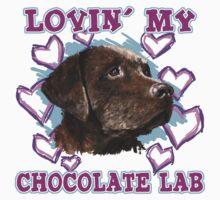 Lovin' My Chocolate Lab One Piece - Short Sleeve