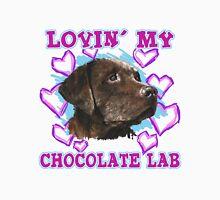 Lovin' My Chocolate Lab Men's Baseball ¾ T-Shirt