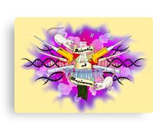 Science to the Max -Tattoo Style Canvas Print