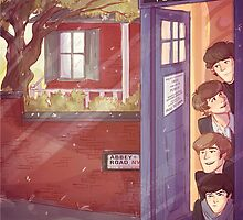 A trip in the TARDIS by Gianbe
