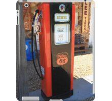 Route 66 - Vintage Gas Pump iPad Case/Skin