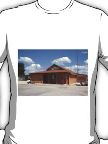 Route 66 - Old Log Cabin T-Shirt