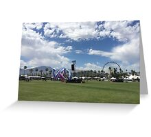 Coachella Greeting Card