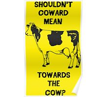 Funny Farm Coward Defintion Poster