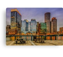 Boston Financial District Canvas Print