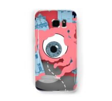Crawling eye loses contact lens Samsung Galaxy Case/Skin