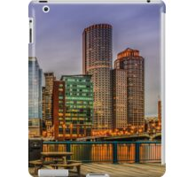 Boston Financial District iPad Case/Skin