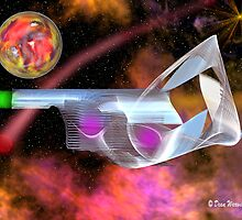 Gun Ship by Dean Warwick