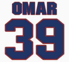 National baseball player Omar Olivares jersey 39 by imsport