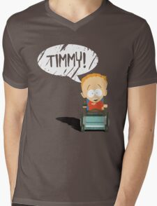 Timmy! Mens V-Neck T-Shirt