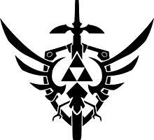 Legend of Zelda Symbol by BIGSAUCE