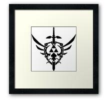Legend of Zelda Symbol Framed Print