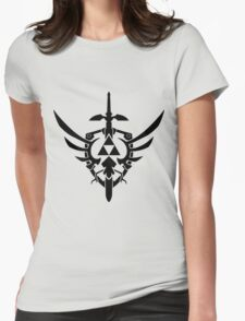 Legend of Zelda Symbol Womens Fitted T-Shirt