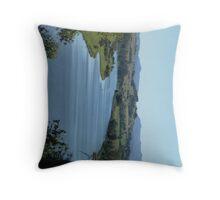 Taree River Throw Pillow