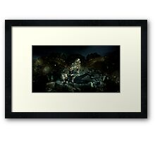 The White Devil Framed Print